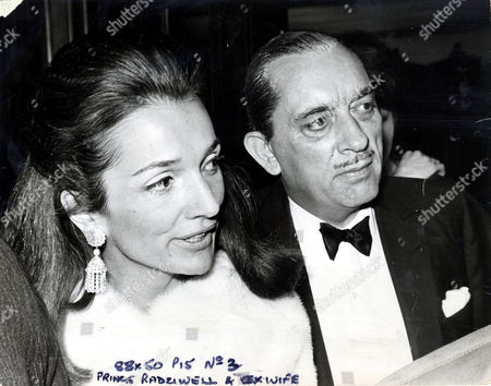 Editorial image of Princess Lee Radziwill Pictured With Her Husband Prince Stanislaus Radziwell.