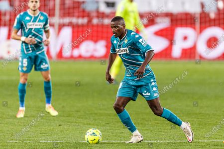 William de Carvalho of Real Betis in action