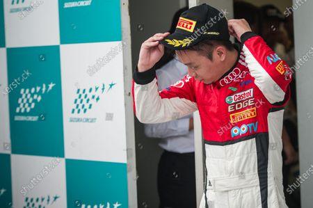 Stock Photo of Jiang Xin (Kane) (CHN) KCMG at Audi R8 LMS Cup, Rd3 and Rd4, Suzuka, Japan, 10-11 June 2017.