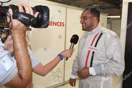 F1 Experiences 2-Seater passenger Michael Caines (GBR) Chef at Formula One World Championship, Rd13, Italian Grand Prix, Practice, Monza, Italy, Friday 1 September 2017.