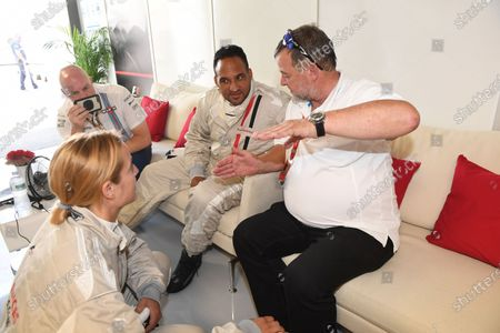 F1 Experiences 2-Seater passenger Michael Caines (GBR) Chef and Paul Stoddart (AUS) at Formula One World Championship, Rd13, Italian Grand Prix, Practice, Monza, Italy, Friday 1 September 2017.