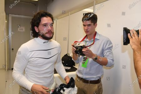 F1 Experiences 2-Seater passenger Kit Harrington (GBR) Actor at Formula One World Championship, Rd13, Italian Grand Prix, Race, Monza, Italy, Sunday 3 September 2017.