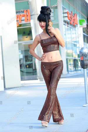 Bai Ling is seen out in Hollywood