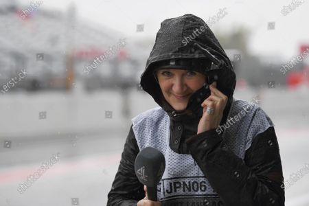 Louise Goodman (GBR) Goodman Media at Formula One World Championship, Rd16, Japanese Grand Prix, Practice, Suzuka, Japan, Friday 6 October 2017.