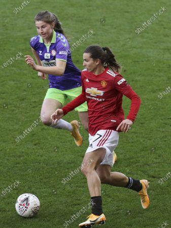 Editorial image of Manchester United v Bristol City, FA Women's Super League, Leigh, UK - 20 Dec 2020