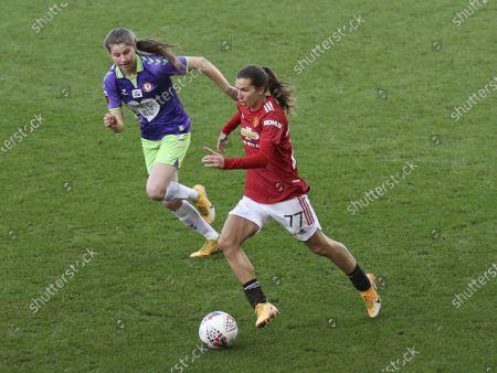 Editorial photo of Manchester United v Bristol City, FA Women's Super League, Leigh, UK - 20 Dec 2020