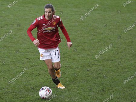 Manchester United's Tobin Heath