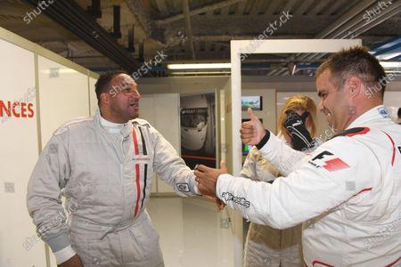 Zsolt Baumgartner (HUN) F1 Experiences 2-Seater driver and F1 Experiences 2-Seater passenger Michael Caines (GBR) Chef at Formula One World Championship, Rd13, Italian Grand Prix, Practice, Monza, Italy, Friday 1 September 2017.