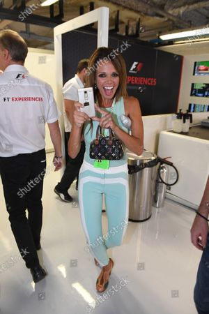 Alejandra Gutierrez (VEN) in the F1 Experiences 2-Seater garage at Formula One World Championship, Rd13, Italian Grand Prix, Practice, Monza, Italy, Friday 1 September 2017.