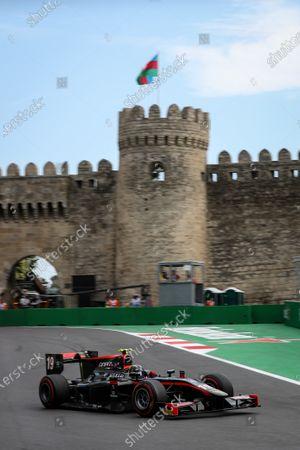 Editorial photo of FIA F2, Formula Two Championship, Baku City Circuit, Azerbaijan - 25 Jun 2017