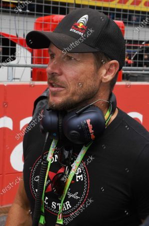 Felix Baumgartner (AUT) on the grid at Formula One World Championship, Rd9, Austrian Grand Prix, Race, Spielberg, Austria, Sunday 9 July 2017.