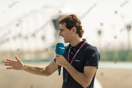 Pedro De La Rosa (ESP) at Formula One World Championship, Rd20, Abu Dhabi Grand Prix, Preparations, Yas Marina Circuit, Abu Dhabi, UAE, Thursday 23 November 2017.