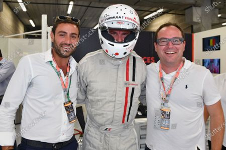 F1 Experiences 2-Seater passenger Xavier Malisse (BEL) Tennis Player at Formula One World Championship, Rd12, Belgian Grand Prix, Qualifying, Spa Francorchamps, Belgium, Saturday 26 August  2017.