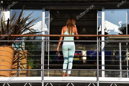 Alejandra Gutierrez (VEN) Actress at Formula One World Championship, Rd13, Italian Grand Prix, Qualifying, Monza, Italy, Saturday 2 September 2017.