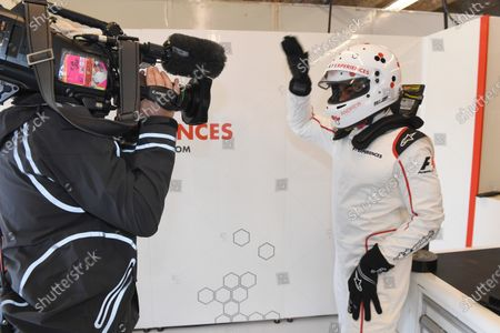 F1 Experiences 2-Seater passenger King Bach (USA) at Formula One World Championship, Rd17, United States Grand Prix, Race, Circuit of the Americas, Austin, Texas, USA, Sunday 22 October 2017.