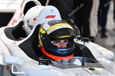Pedro De La Rosa (ESP) F1 Experiences 2-Seater Driver at Formula One World Championship, Rd5, Spanish Grand Prix, Qualifying, Barcelona, Spain, Saturday 12 May 2018.