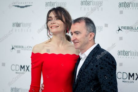 Paddy Lowe (GBR) Williams Shareholder and Technical Director and wife Anna Danshina (RUS) at Amber Lounge Fasion Show, Le Meridien Beach Plaza Hotel, Monaco, Friday 25 May 2018.