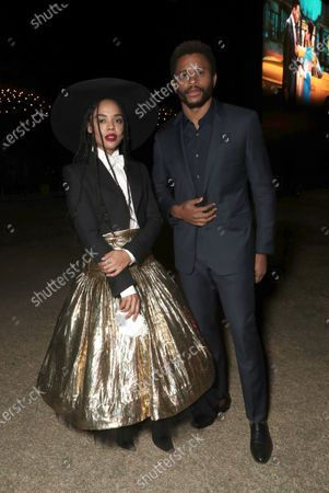 Tessa Thompson and Nnamdi Asomugha