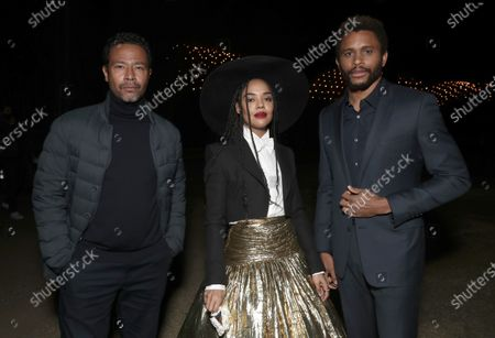 Stock Photo of Director Eugene Ashe, Tessa Thompson and Nnamdi Asomugha