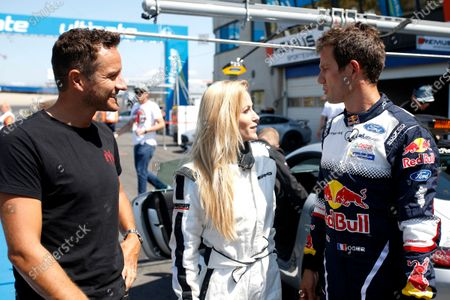 Sébastien Ogier is driving Mercedes-AMG C63 DTM with his wife Andrea Kaiser and Timo Scheider.