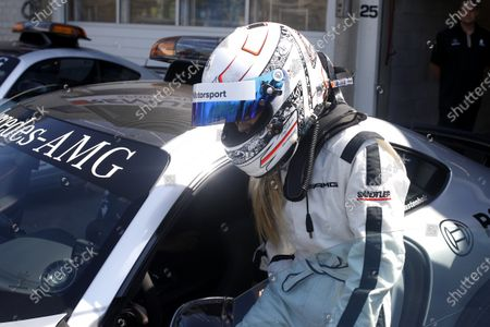 Sébastien Ogier is driving Mercedes-AMG C63 DTM with his wife Andrea Kaiser.