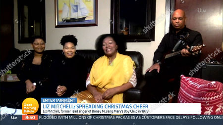 Editorial image of 'Good Morning Britain' TV Show, London, UK - 21 Dec 2020