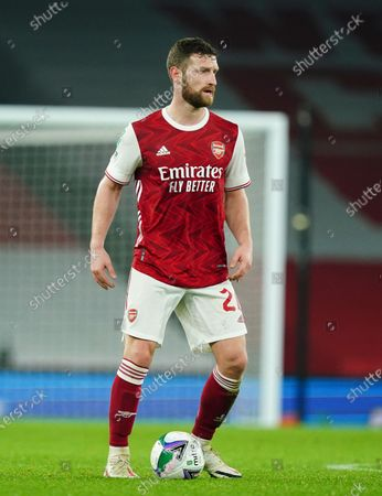 Shkodran Mustafi of Arsenal