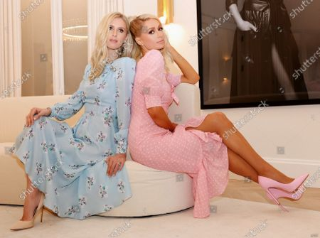 Editorial image of Exclusive - Paris Hilton and Nicky Hilton Rothschild photoshoot, Los Angeles, California, USA - 10 Dec 2020