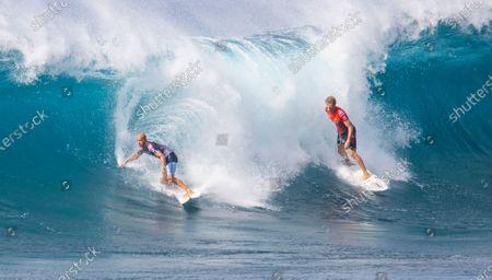 Editorial image of 50th Annual Billabong Pipe Masters at The Banzai Pipeline, Haleiwa, Hawaii - 20 Dec 2020