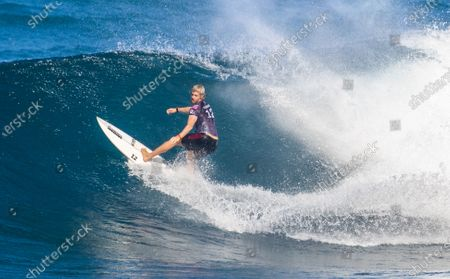 John John Florence at the Billabong Pipe Masters presented by Hydro Flask at The Banzai Pipeline in Haleiwa, HI