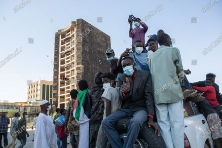 Stock Picture of Two years after the revolution, Sudan sinks into crisis.  On December 19, 2018, hundreds of Sudanese rose up in several cities across the country to protest the government's decision to triple the price of bread. The movement will lead, four months later, to the dismissal of President Omar al-Bashir. Incarcerated in Khartoum since then, the ousted president could soon be handed over to the International Criminal Court (ICC) in The Hague, where he must face charges of genocide and war crimes.