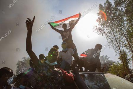 Editorial photo of Sudan revolution anniversary, Sudan - 20 Dec 2020