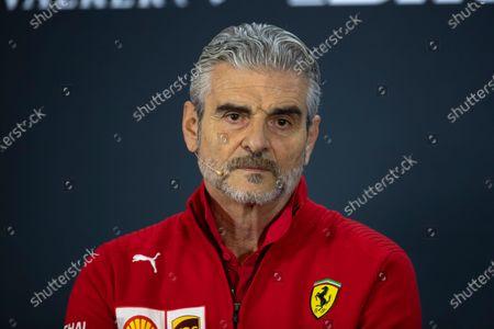 Maurizio Arrivabene, Ferrari Team Principal in Press Conference
