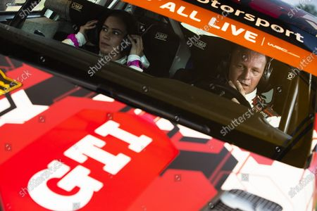 Petter Solberg enjoying his return to WRC after a six-year hiatus. Petter Solberg, Volkswagen Motorsport, Volkswagen Polo GTI R5,