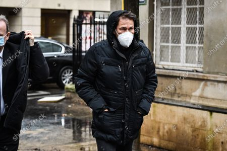 Rudi Garcia during the Funeral Ceremony on December 21, 2020 in Paris, France.