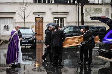 Tribute to Gerard Houllier during the Funeral Ceremony on December 21, 2020 in Paris, France.