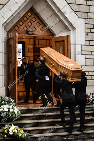 Editorial photo of Funeral of Gerard Houllier, Paris, France - 21 Dec 2020