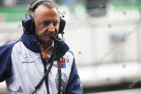 Stock Image of Paddy Lowe, Chief Technical Officer, Williams Racing