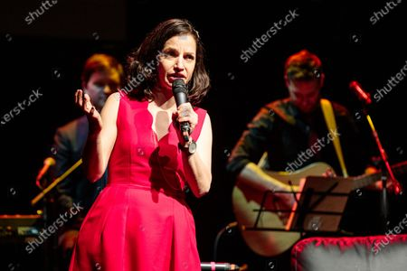 Stock Picture of Catie Lazarus hosts 'Employee of the Month' 9th anniversary show at Gramercy Theater on March 15, 2018.