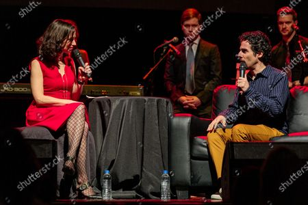 Catie Lazarus and Alex Lacamoire - Catie Lazarus hosts 'Employee of the Month' 9th anniversary show at Gramercy Theater on March 15, 2018.