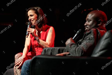 Catie Lazarus and Hannibal Buress - Catie Lazarus hosts 'Employee of the Month' 9th anniversary show at Gramercy Theater on March 15, 2018.