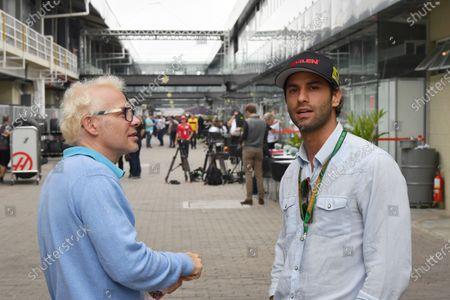 Felipe Nasr and Jacques Villeneuve, Sky Italia