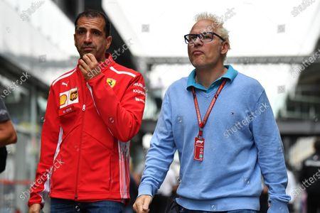Marc Gene, Ferrari and Jacques Villeneuve, Sky Italia