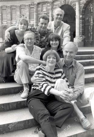 Alan Ayckbourn Top Right With The Cast Of Absurd Person Singular At The Whitehall Theatre. Left To Right: Jennifer Wiltsie Jeff Shankley Alan Ayckbourn Richard Hane And Lavinia Barmary Amanda Redmond And Donald Douglas. ...playwrights