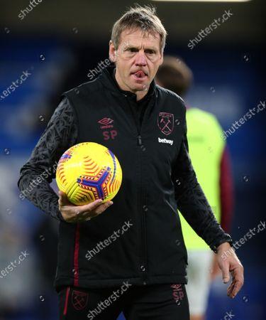 Stuart Pearce the West Ham United coach