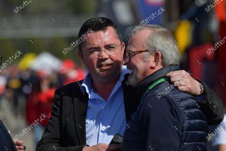 Eric Boullier and Didier Coton, Driver Manager