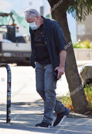 Ron Perlman is seen going shopping