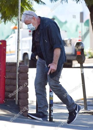 Stock Image of Ron Perlman is seen going shopping