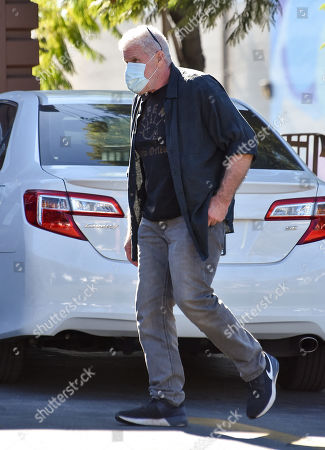 Stock Photo of Ron Perlman is seen going shopping