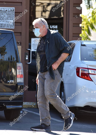 Editorial photo of Ron Perlman out and about, Los Angeles, California, USA - 21 Dec 2020